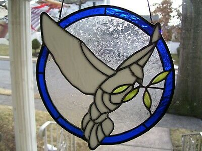 Stained Glass Dove of Peace (Real Glass)