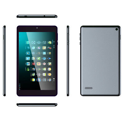 Ultra Thin 7Inch Google Gaming Tablet Android4.4 Quad Core Dual Camera WiFi 16GB