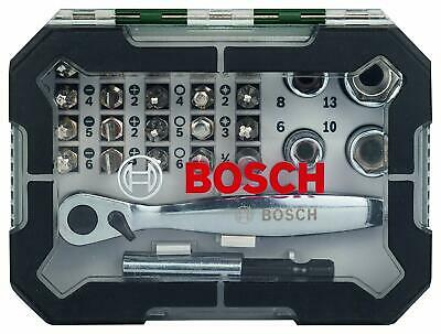 26 Pieces BY2PM Bosch 2607017322 Rainbow Evo Set Screwdriver with small ratchet