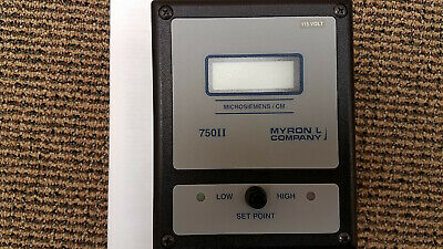 NEW Myron L 758II-113-4A Digital Conductivity/TDS Monitor/Controller 4-20 mA Out