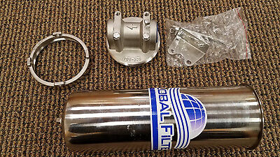 "NEW GFHD1175ND430 10"" 304 Stainless Steel Single Filter Housing Global Filter"