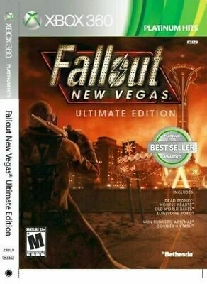 Fallout: New Vegas -- Ultimate Edition (Microsoft Xbox 360, 2012) *New,Sealed*