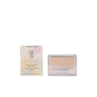 Maquillaje Clinique mujer ALL ABOUT SHADOW soft matte #AA-french vanilla 2,2 gr