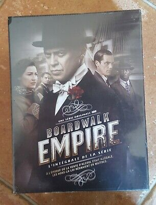 Coffret 22 Dvd Boardwalk Empire - L'integrale De La Serie - Neuf Scelle