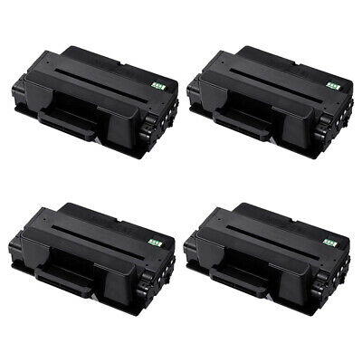 4PK MLT-D205L Toner Cartridge for Samsung SCX-4833 4835 ML-3310 ML-3312 ML-3710