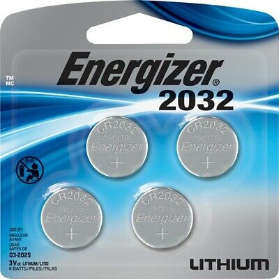 NEW Energizer 2032BP4 2032 Watch/Electronic Batteries Battery LITHIUM 4 PACK
