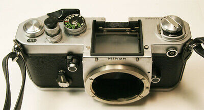 Nikon F2 Film Camera Chrome body Only  Super