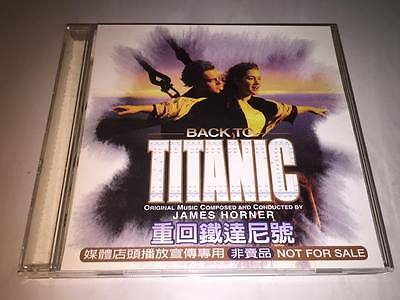 Celine Dion 1997 Back To Titanic My Heart Will Go On Taiwan 6TK Promo CD Sampler
