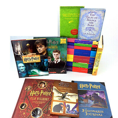 Harry Potter Book Set Complete 1-7 Hardcover 1st Edition Raincoast Canada Series