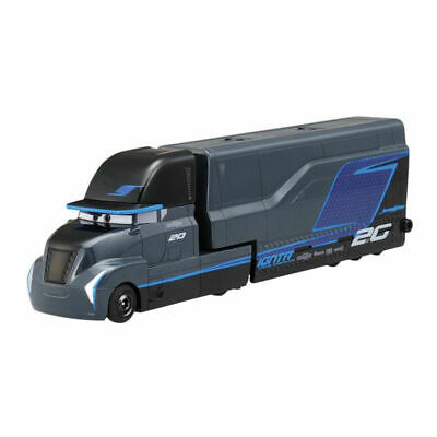 Disney Pixar Cars 3 Jackson Storm Hauler Truck Diecast Metal Toy Vehicles 1:55