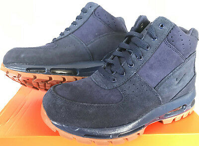 889c357e35 Nike Air Max Goadome GS ACG 311567-400 Navy Sneaker Boots Shoes Youth's 5.5  Y
