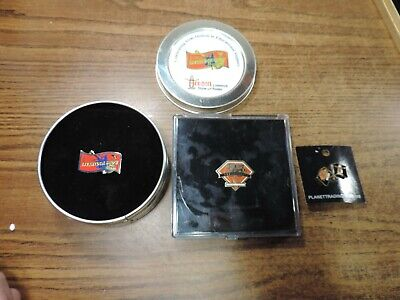 3 Houston Rodeo Pins 75th Anniversary 2005 Limited Edition