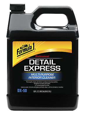 Formula 1 DX-50 Multi-Purpose Interior Cleaner, 1 Gallon