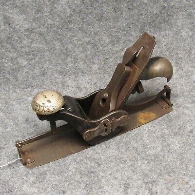 Stanley No 113 Compass Circular Wood Plane Sweetheart Model Usable Antique