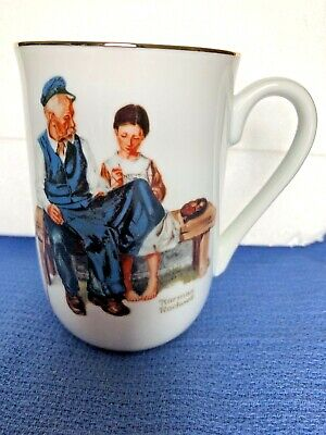 Norman Rockwell Museum The Lighthouse Keeper's Daughter Vintage Coffee Mug Cup