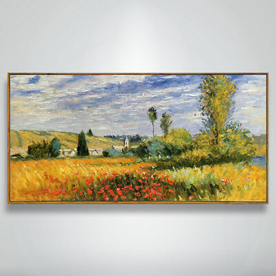 VV196 Hand-painted Room Wall decoration Scenery oil painting Copy on Canvas