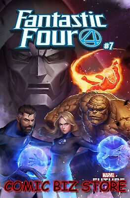 Fantastic Four #7 (2019) 1St Print Yongho Cho Mystery Variant Cover Marvel