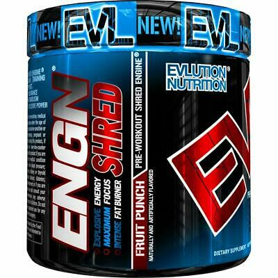 Nutrition ENGN Shred Pre Workout Thermogenic Fat Burner Powder Energy Weight Lo
