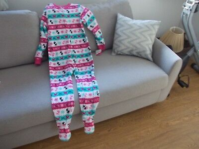 Jumping Beans Girl's Fleecy All in One. 7 years BNWT