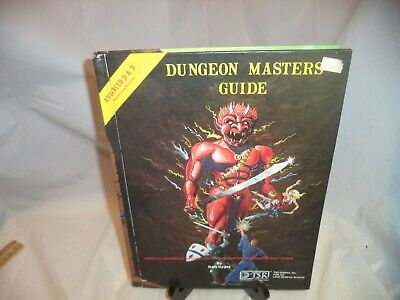 Advanced Dungeons and Dragons DUNGEON MASTER'S GUIDE 1979-Vintage HC Very Good