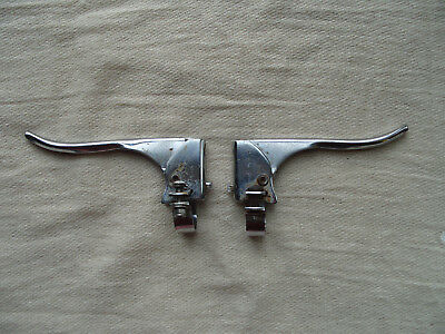 Vintage road bike brake levers