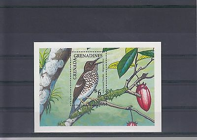 Timbre Stamp Bloc Grenade Grenadines Y&T#197 Oiseau Neuf**/Mnh-Mint 1990 ~A05