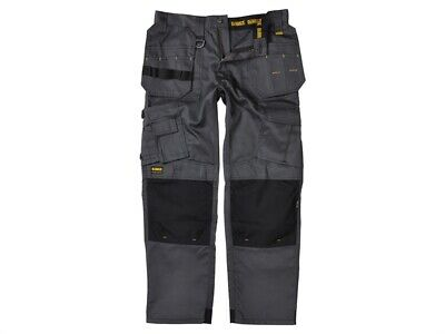 DEWALT DEWPROT3433G Pro Tradesman Black/Grey Trousers Waist 34in Leg 33in