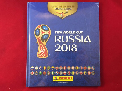 Panini Russia 2018 World Cup 18 Mexico Edition Hard Cover Album