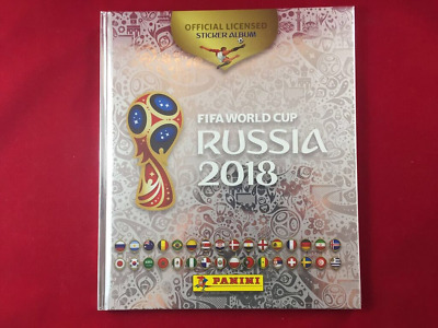 Panini Russia 2018 World Cup 18 Mexico Edition Hard Cover Platinum Album