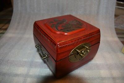 CHINESE ASIAN ORIENTAL JEWELRY BOX Keepsake Box