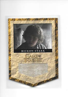 Game of Thrones Season 2 Rickon Stark #RS7 Costume Banner Relic /375