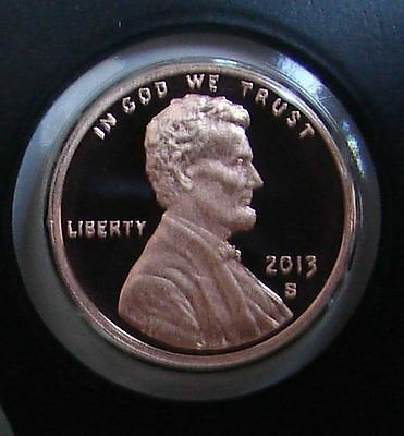 2013 S Lincoln Shield  Proof Cent - Gem Cameo Mint Condition Penny