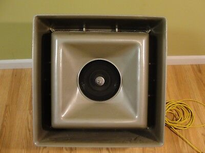 Vintage Electro-Voice Musicaster High Fidelity Projector Speaker Indoor Outdoor