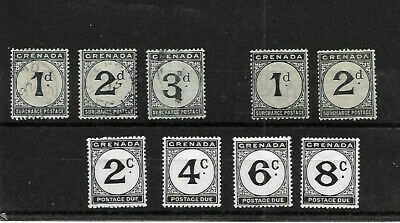 Grenada Postage Dues - Mint And Used.