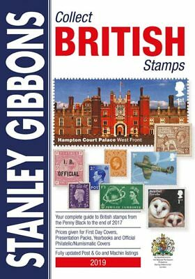 STANLEY GIBBONS 2019 COLLECT BRITISH STAMPS STAMP CATALOGUE 70th Edn in COLOUR