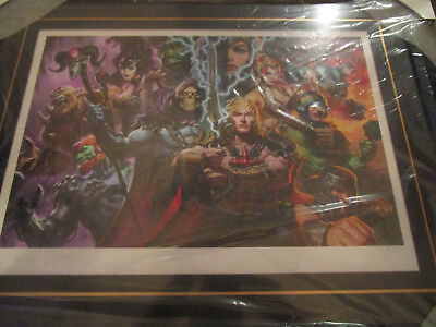Sideshow HE-MAN Masters of the Universe MOTU FRAMED Premium Art Print #30