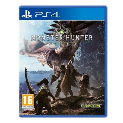 Monster Hunter World PS4 PlayStation 4 Game New Sealed PAL Version In Stock
