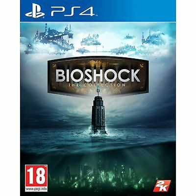 Bioshock The Collection PS4 Playstation 4 Game PAL Version New Sealed In Stock