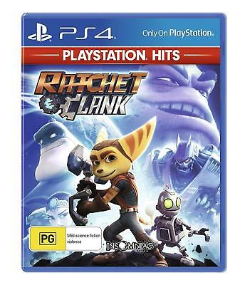 Ratchet And Clank PS4 Playstation 4 Hits Game New & Sealed Australian Vers SALE