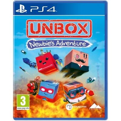 Unbox Newbie's Adventure PS4 PlayStation4 Game New & Sealed PAL Version In Stock
