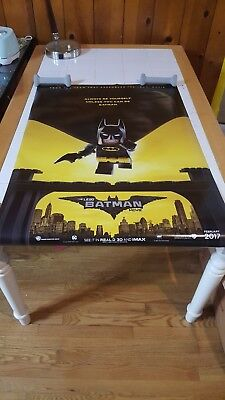 THE LEGO BATMAN MOVIE POSTER 2 Sided ORIGINAL Advance 27x40