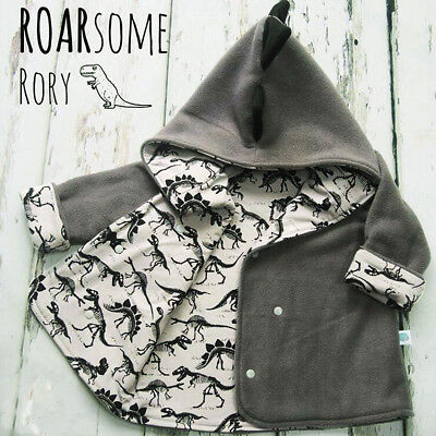 AU Toddler Baby Kids Infant Boy Clothes Hooded Warm Top Shirt Jacket Coat Outfit