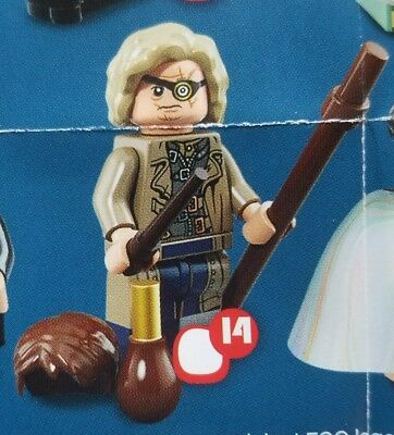 LEGO MADEYE MOODY #14 Minifigure 71022 Harry Potter Fantastic Beasts Series NEW