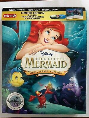 The Little Mermaid (4K Ultra HD Disc ONLY) w/ TARGET EXCLUSIVE CASE! SEE DETAILS