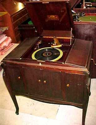 REDUCED Victor VV-280 Talking Machine Phonograph Victrola - PLAYS WELL    -1