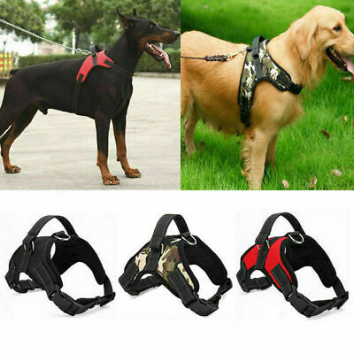 Dog Pet Pulling Harness Adjustable Perfect for Safety Pulling Belt Support L&XL
