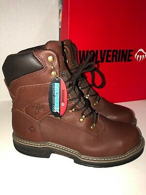 8a1a4ecbcf6 WOLVERINE W04822 MEN'S Buccaneer Dark Brown Steel-Toe Waterproof ...