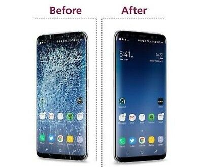 Samsung Galaxy S8 + Glass Only Repair Replacement Mail In Service Premium Parts