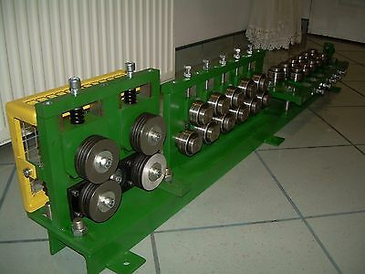 wire straightener, roll, 22 rolls straightening,Double wire feeder,
