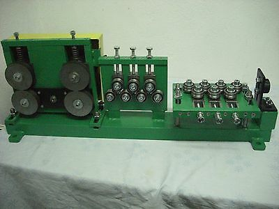 wire straightener, rollers, 14 rolls straightening,Double wire feeder